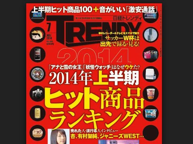 2014年ヒット商品ベスト30