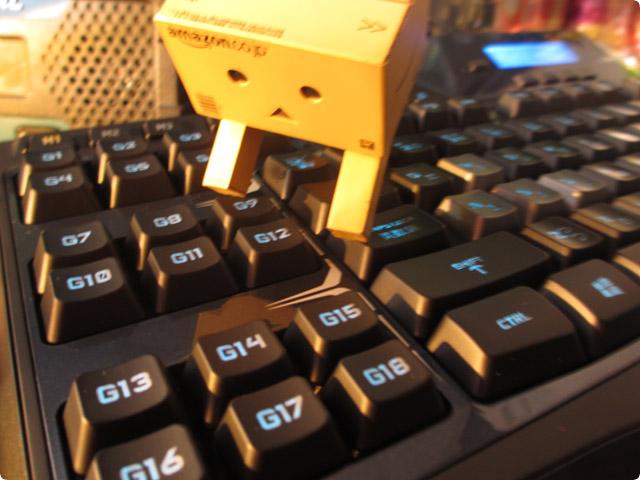 G510sを購入する雑魚(テキストを登録できるキーボード)