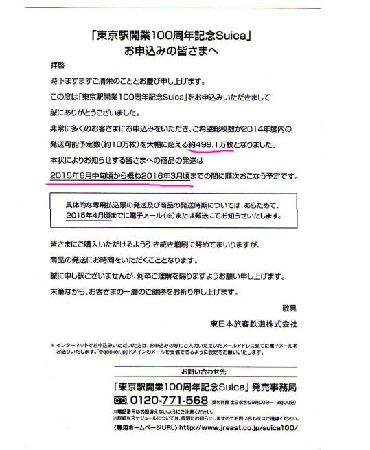 東京駅開業100周年記念SUICAに学ぶ集客術