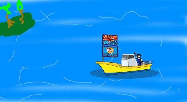 ヨットで66日間漂流