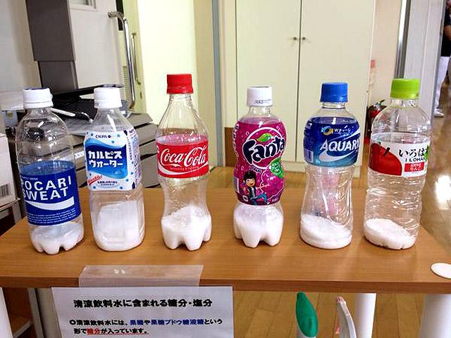 コーラ 砂糖の量