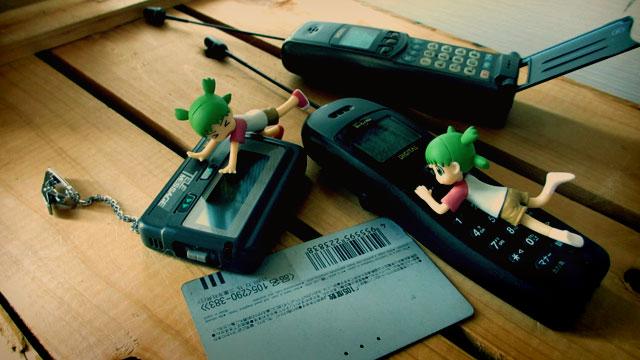 携帯電話ポケベル