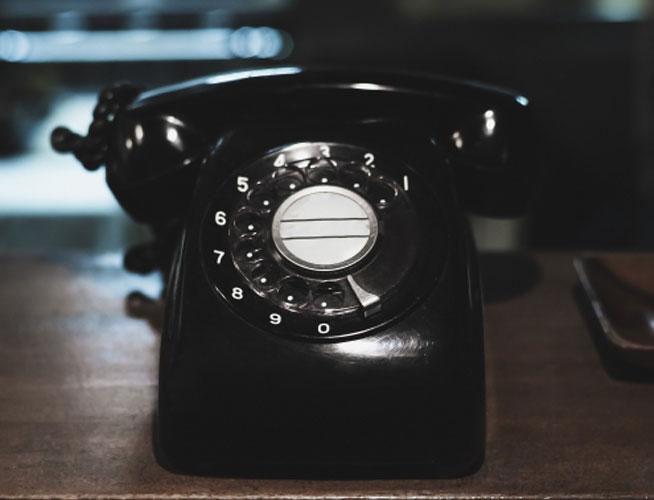 税務署から電話